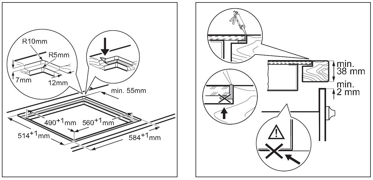 Guida: Installazione e posa del piano cottura - Forum Piano ...