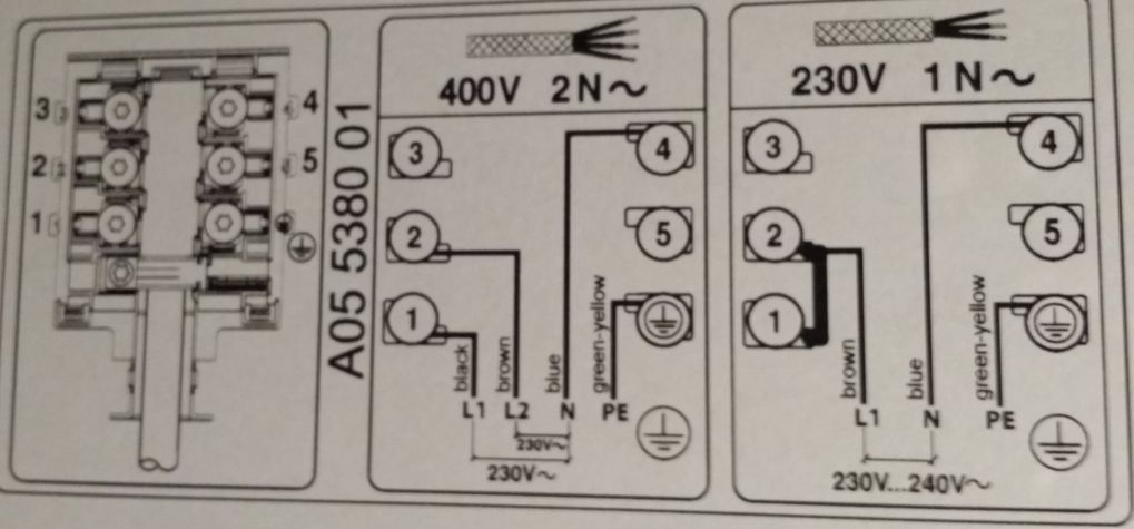 Schema Collegamento Differenziale Magnetotermico : Guida: impianto e collegamenti elettrici forum piano cottura