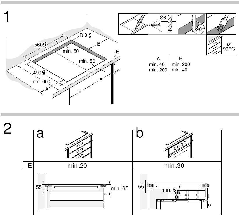 Guida impianto e collegamenti elettrici forum piano for Piano cottura induzione bosch pia611b68j istruzioni