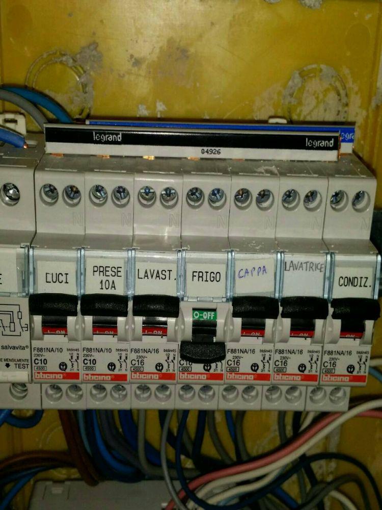 Costo allaccio enel contatore esistente beautiful - Sezione cavi elettrici casa ...