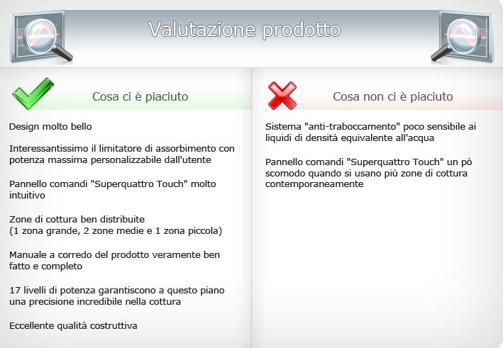 recensione piano cottura ad induzione bosch pie645q14e by pci ... - Cucina A Induzione Pro E Contro