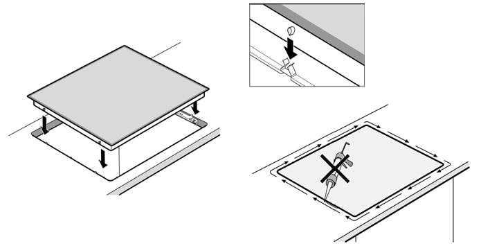 Recensione piano cottura ad induzione bosch pin675n14e con for Dimensioni piano cottura